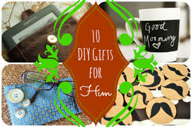 DIY Holiday Gifts for Him
