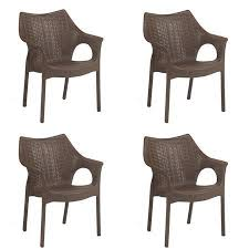 Image Solid Wood Snapdeal Supreme Cambridge Chair set Of 4 Wenge