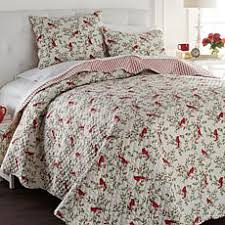 Clearance Quilts & Coverlets | HSN & Clearance. Cottage Collection 100% Cotton Cardinal 3pc Quilt Set ... Adamdwight.com