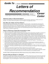 9 College Letter Of Recommendations Graphic Resume