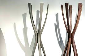 Modern Coat Rack Tree Enchanting Modern Standing Coat Rack Coat Racks Awesome Standing Rack Target