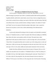 paper on living like weasels lindsay lastinger english ii coach  most popular documents for english 1101