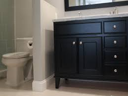 install bathroom vanity between two walls ideas