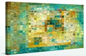 modern mosaic tile art painting picture perfect int diy mark 5 canvas wall