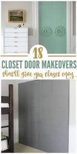 18 closet door makeovers that will give you closet envy