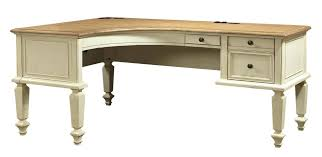 large image for fabulous l shape desk photos cottonwood curved half pedestal shaped with file drawers