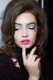 1 80 s disco makeup trend brighter and bolder colors