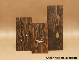 Wooden Necklace Display Stands Wooden Necklace Display Board Necklace Holder Jewelry 18
