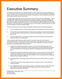 Executive Sumary Exceptional Executive Summary Template Word Ulyssesroom
