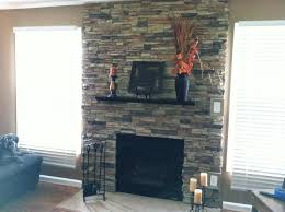 faux stone accent walls traditional