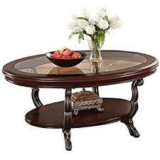 cherry coffee table. Acme 80120 Bavol Coffee Table, Brown Cherry Finish Table