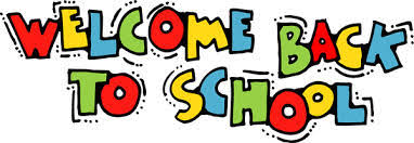 Image result for welcome back to school message