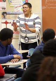 Trudy Smith-Norton and her classroom at Central High School in East Chicago  | Lake County News | nwitimes.com