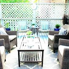 outdoor rugs s patio com allen roth willowton