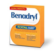 Extra Strength BENADRYL TOTAL® Allergy & Sinus | BENADRYL® Canada