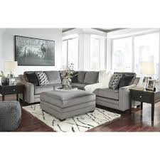 Ashley Furniture Bicknell LAF Sectional Sofa with Corner Wedge in