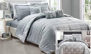 microfiber bedding set. Plain Bedding Chic Home Monique 10 Piece Microfiber Comforter Set  Aqua Size King  Intended Bedding E