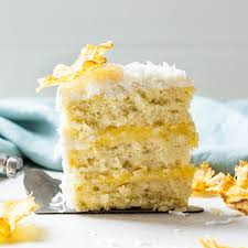 Pineapple Coconut Cake Baked By An Introvert