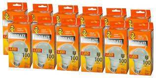 Купить Упаковка <b>светодиодных</b> ламп 12 шт Ecowatt <b>LED</b>-A60 ...