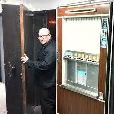 How To Break In A Vending Machine Beauteous The Secretenterance Into The New HustonHospitality Spot