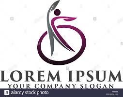 medical logos design healty people logos medical logo design concept template stock