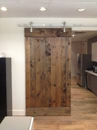 Barn Door For Kitchen Kitchen Barn Doors This Southwest Minneapolis Kitchen Features A