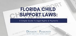 Va Child Support Chart Florida Child Support Laws Guidelines To Legal Rights