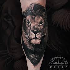 тату льва картинки