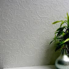 brewster wallcovering anaglypta 57 5 sq ft paintable vinyl textured fl 3d wallpaper