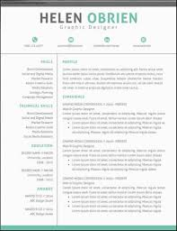 Contemporary Resume Templates Fascinating Modern Resume Templates Free Wwwmetrobaseballus