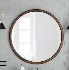 wood wall mirror. Urban Trends Wood Round Wall Mirror Reviews Wayfair Pertaining To Intended For Idea 15