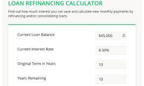 Student Loan Refinancing Calculator College Reviews