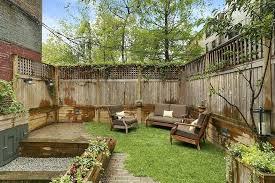 landscape backyard traditional landscape yard with outdoor fence exterior  tile floors backyard landscape design plan