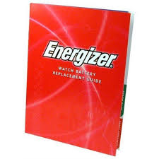Energizer Watch Battery Replacement Guide