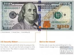 100 bill is real or fake