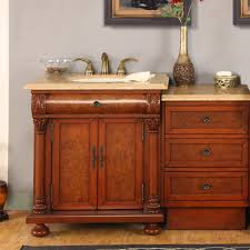 60 Inch Single Sink Vanity Cabinet Shop Bathroom Vanities 49 To 60 Inches Wide With Free Shipping