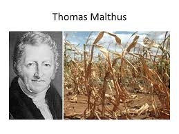 new ways of thinking thomas malthus saw effects of population  4 thomas malthus