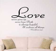 bible verses about love wall art