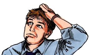 Image result for confused man  free cartoon