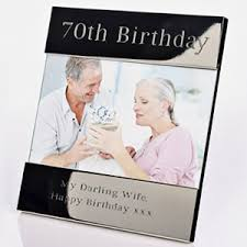 a perfect keepsake gift show off the birthday in style70th