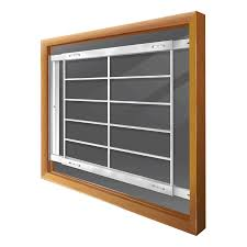 Shop Mr. Goodbar E 52-in x 31-in White Swing-away Bar Window ...