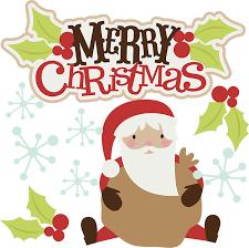 merry christmas clip art. Unique Clip Cute Merry Christmas Clipart 1 Intended Clip Art A