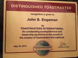 john engeman ctp cma cfm s personal website distinguished toastmaster