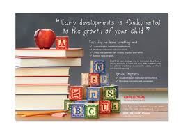 Preschool Kids Day Care Flyer Template
