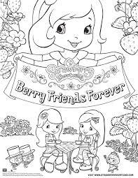 Forever Friends Beertje Kleurplaat