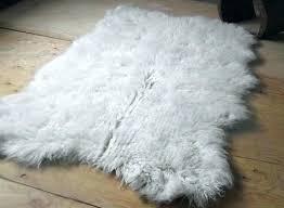 white rug rugs area flokati ikea cleaning