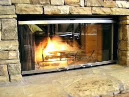 gas fireplace glass doors traexp me