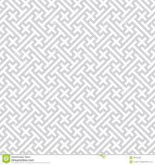 Gray Seamless Geometric Vector Background Stock Vector