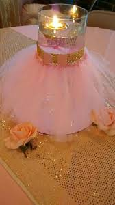 PINK And GOLD Baby Shower Diaper Cake Crown Centerpiece Princess Theme Baby Shower Centerpieces