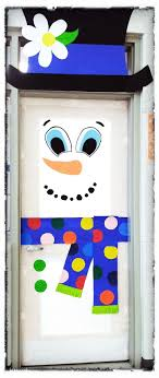 christmas office door decorating. Christmas Office Door Decorating Ideas By Snowman Decoration And New Year Wishes For Family